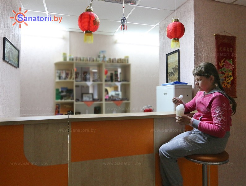Санаторыі Беларусі - санаторый Свіцязь - Аксігенатэрапія (кіслародатэрапія)