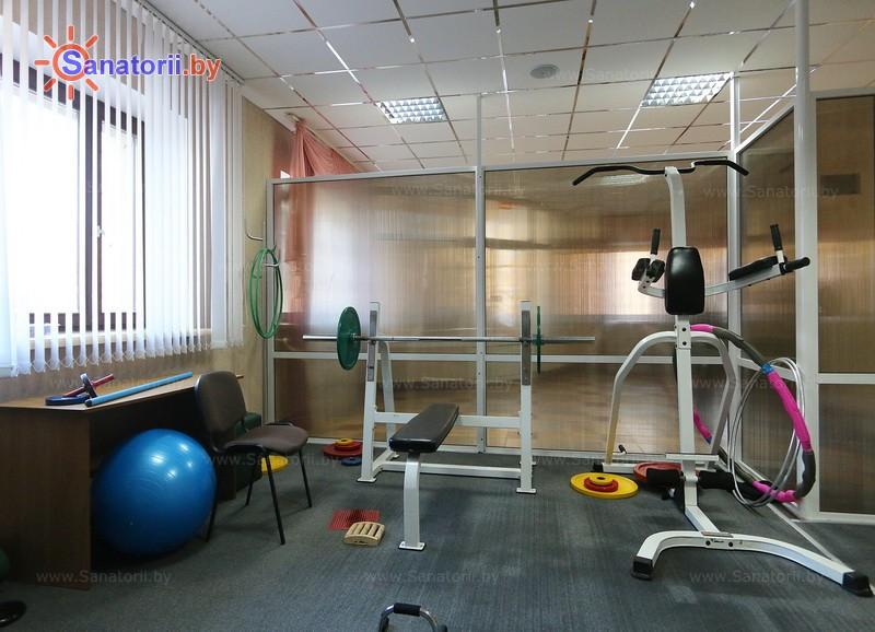 Санатории Белоруссии Беларуси - санаторий Свитязь - Тренажерный зал (механотерапия)