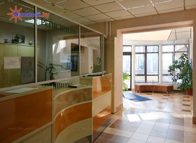 Санатории Белоруссии Беларуси - санаторий Свитязь - Регистратура