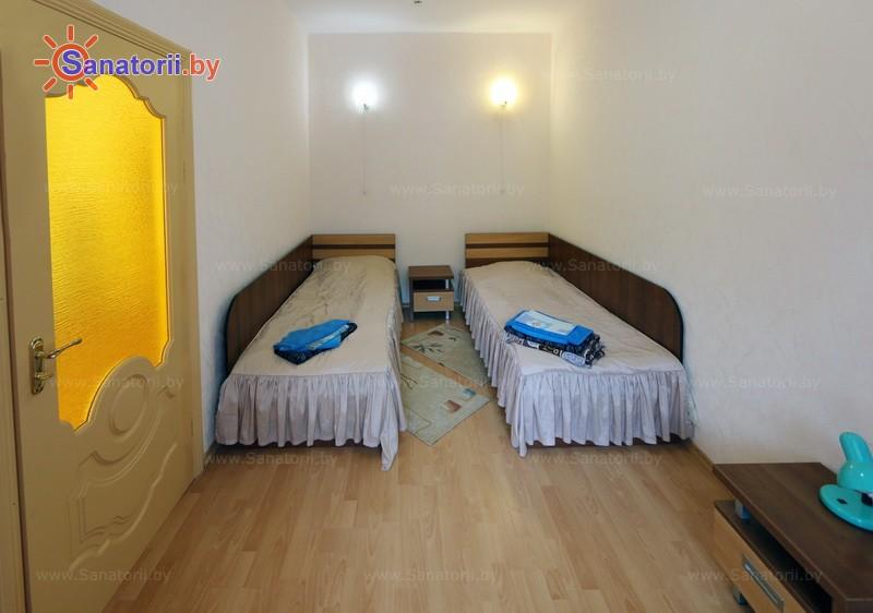 Санатории Белоруссии Беларуси - санаторий Свитязь - двухместный двухкомнатный lux twin (главный корпус)