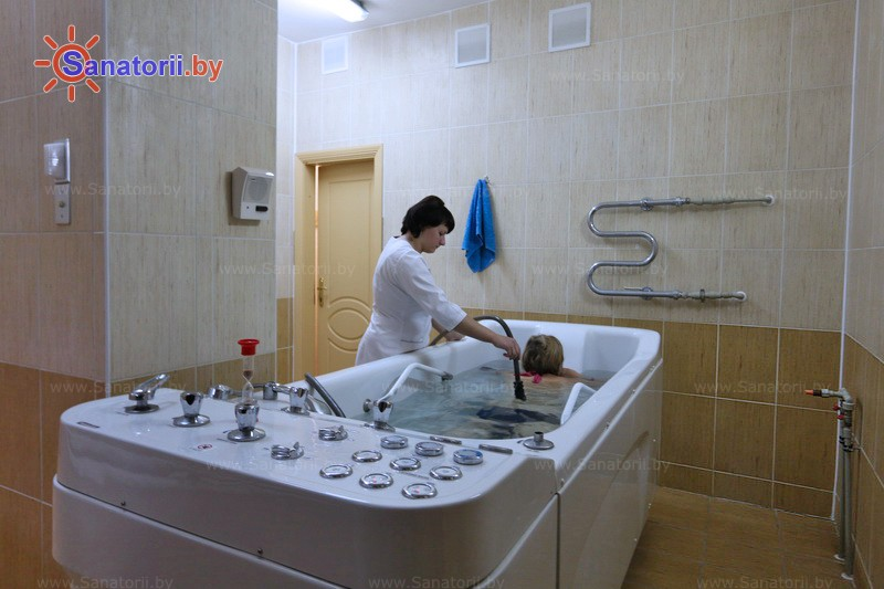 Санатории Белоруссии Беларуси - санаторий Свитязь - Душ-массаж подводный