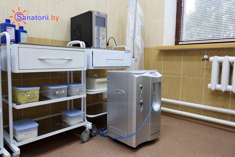 Санатории Белоруссии Беларуси - санаторий Свитязь - Озонотерапия