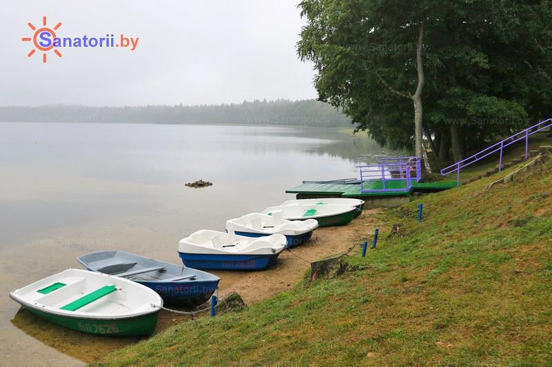 Санатории Белоруссии Беларуси - санаторий Свитязь - Прокат лодок