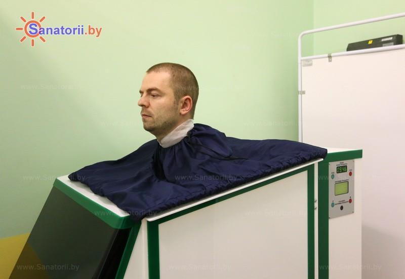 Санатории Белоруссии Беларуси - оздоровительный комплекс Ракета - Ванна сухая углекислая