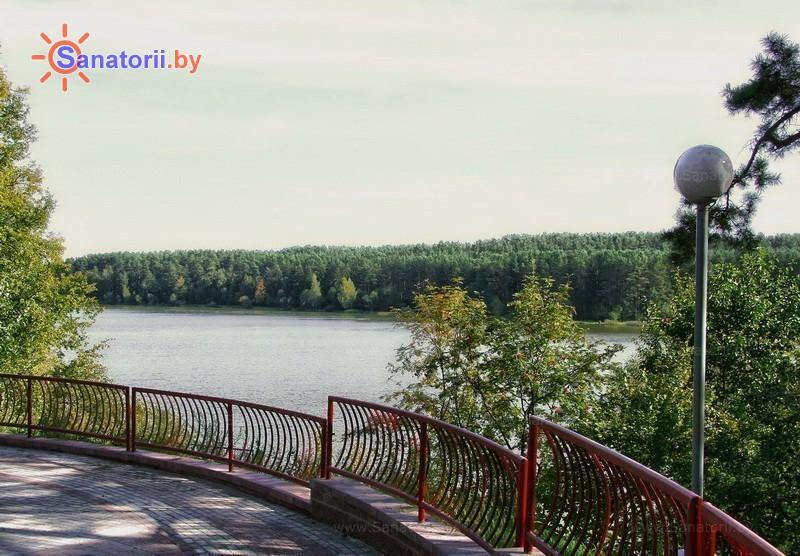Санатории Белоруссии Беларуси - оздоровительный комплекс Ракета - Водоём