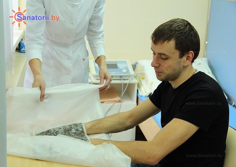 Санатории Белоруссии Беларуси - оздоровительный комплекс Ракета - Грязелечение (пелоидотерапия)