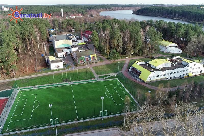 Санатории Белоруссии Беларуси - оздоровительный комплекс Ракета - Спортплощадка