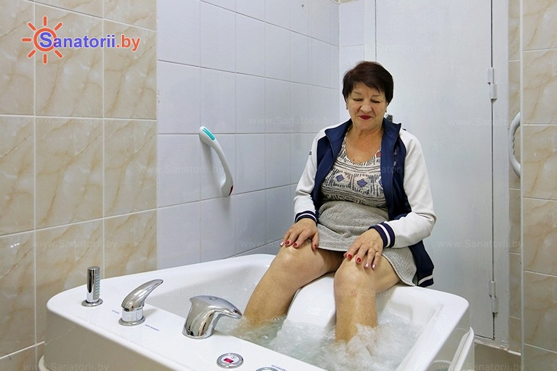 Санаторыі Беларусі - аздараўленчы комплекс Ракета - Віхравыя ванны