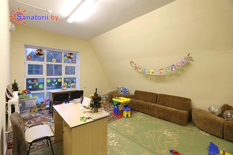 Санатории Белоруссии Беларуси - оздоровительный комплекс Ракета - Детская комната