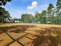 health resort Belaya vezha for war, labour veterans and disabled people - Sportsground