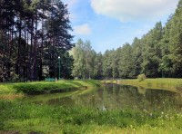 health resort Belaya vezha - Water reservoir