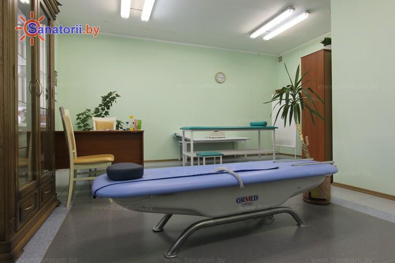 Санатории Белоруссии Беларуси - санаторий Белая вежа - Массаж аппаратный