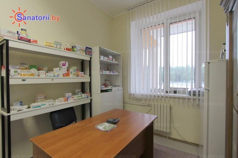 Санатории Белоруссии Беларуси - санаторий Белая вежа - Аптечный киоск