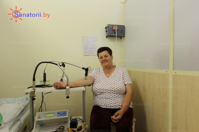Санатории Белоруссии Беларуси - санаторий Белая вежа - Лазерная терапия