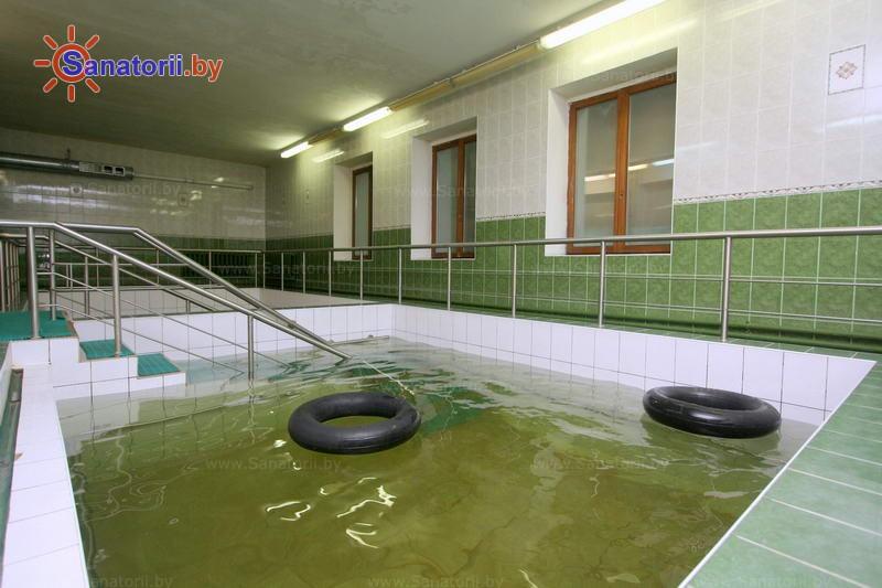 Санатории Белоруссии Беларуси - санаторий Белая вежа - Вытяжение позвоночника подводное