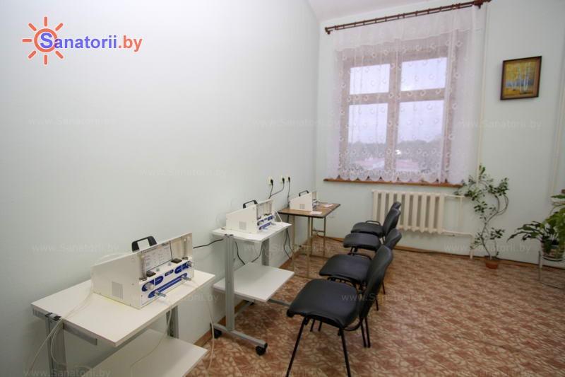 Санатории Белоруссии Беларуси - санаторий Белая вежа - Ингаляции (аэрозольтерапия)