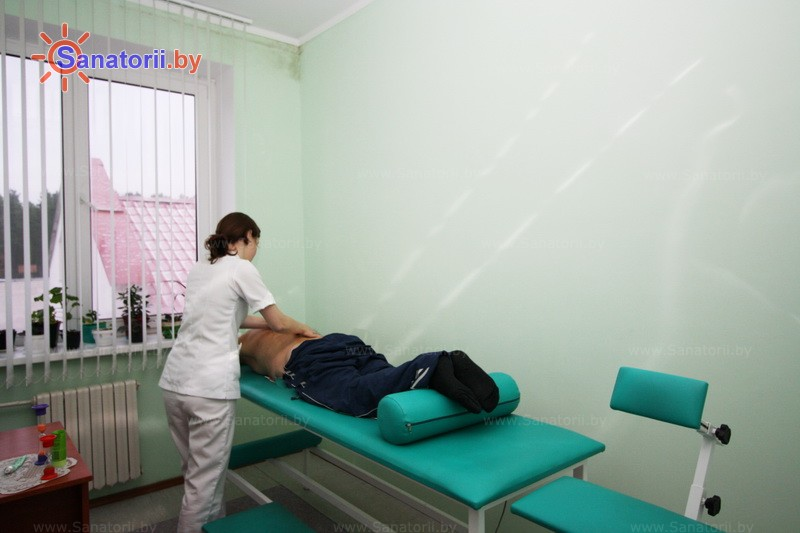 Санатории Белоруссии Беларуси - санаторий Белая вежа - Массаж ручной
