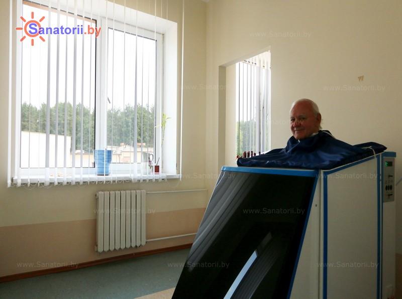 Санатории Белоруссии Беларуси - санаторий Белая вежа - Ванна сухая углекислая