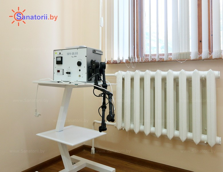 Санатории Белоруссии Беларуси - санаторий Белая вежа - Увч-терапия