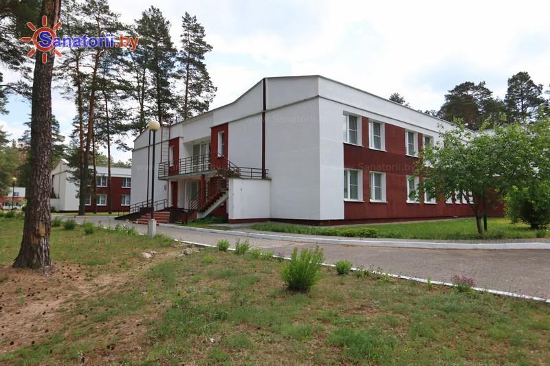 Санатории Белоруссии Беларуси - санаторий Вяжути - спальный корпус №3