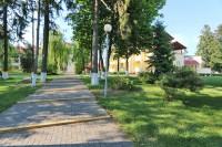 санатория Ясельда - Территория и природа