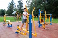 health resort Sosny Mogilev - Outdoor gym