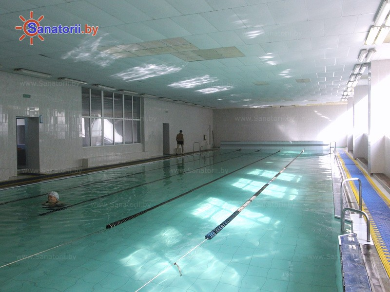 Санатории Белоруссии Беларуси - санаторий Сосны - Аквааэробика