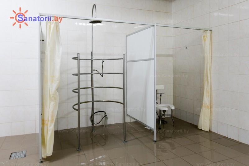 Санатории Белоруссии Беларуси - санаторий Сосны - Душ лечебный