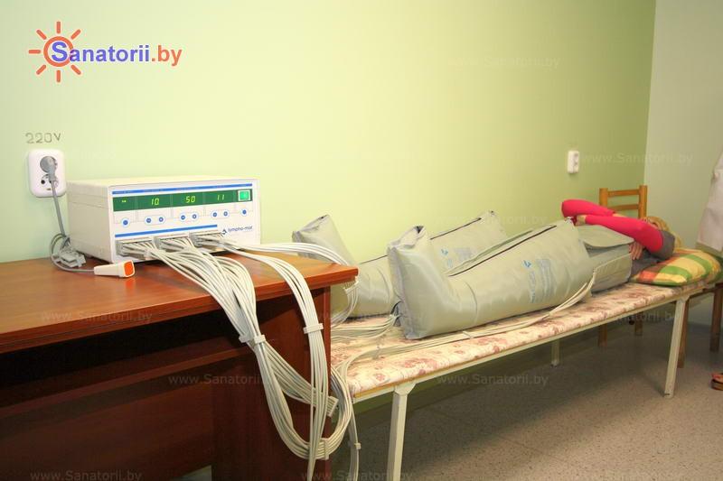Санатории Белоруссии Беларуси - санаторий Жемчужина - Компрессионная терапия