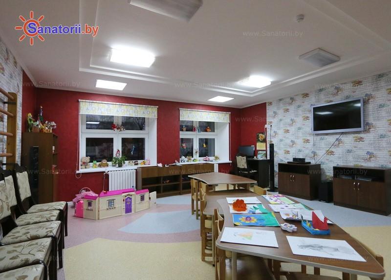 Санатории Белоруссии Беларуси - санаторий Жемчужина - Детская комната