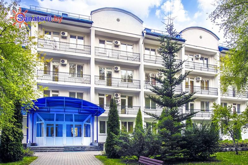 Санатории Белоруссии Беларуси - оздоровительный центр Энергия - главный корпус