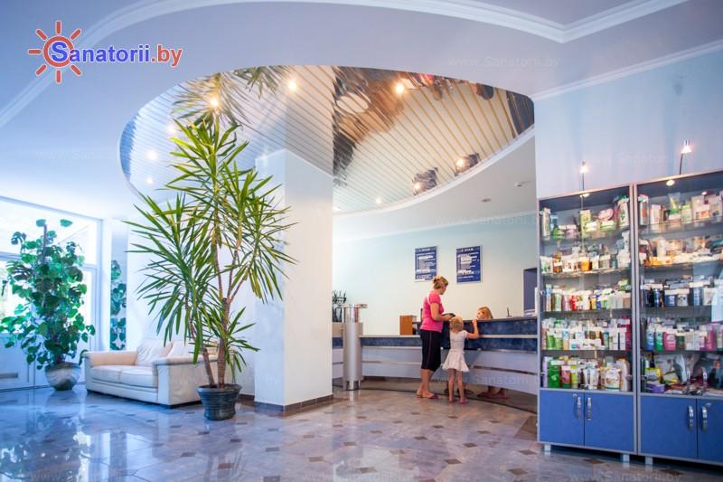 Санатории Белоруссии Беларуси - оздоровительный центр Энергия - Регистратура