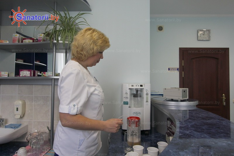 Санатории Белоруссии Беларуси - оздоровительный центр Энергия - Оксигенотерапия (кислородотерапия)