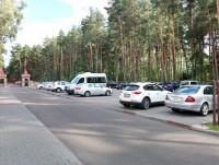 санаторий Ружанский - Автостоянка