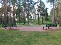 санатория Ружанский - Территория и природа