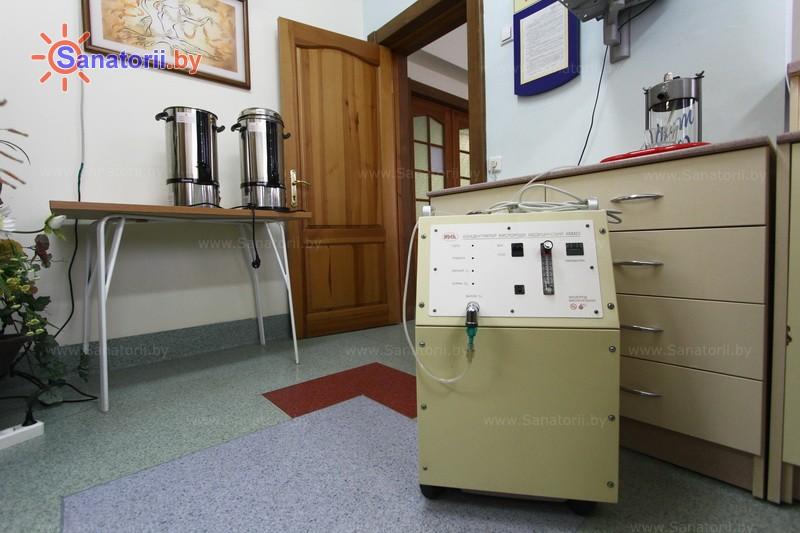 Санатории Белоруссии Беларуси - санаторий Ружанский - Оксигенотерапия (кислородотерапия)