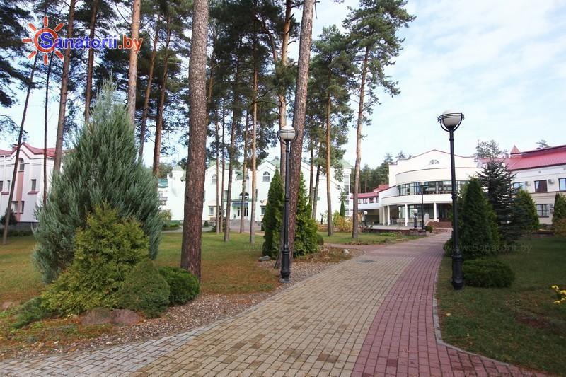 Санатории Белоруссии Беларуси - санаторий Ружанский - Территория и природа