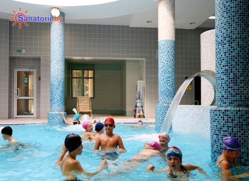 Санатории Белоруссии Беларуси - санаторий Ружанский - Бассейн