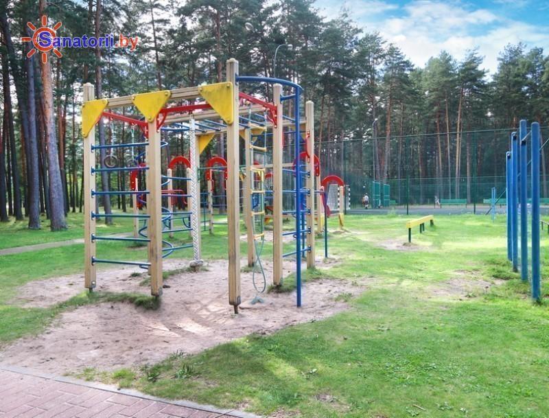 Санатории Белоруссии Беларуси - санаторий Ружанский - Детская площадка