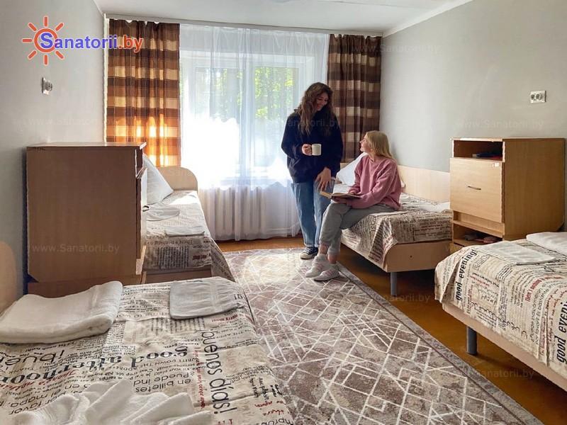 Санатории Белоруссии Беларуси - детский санаторий Академия здоровья - четырехместный однокомнатный (спальные корпуса)