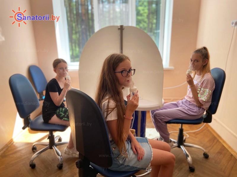 Санатории Белоруссии Беларуси - детский санаторий Академия здоровья - Ингаляции (аэрозольтерапия)