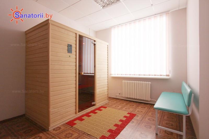 Санатории Белоруссии Беларуси - ДРОЦ Колос - Сауна инфракрасная