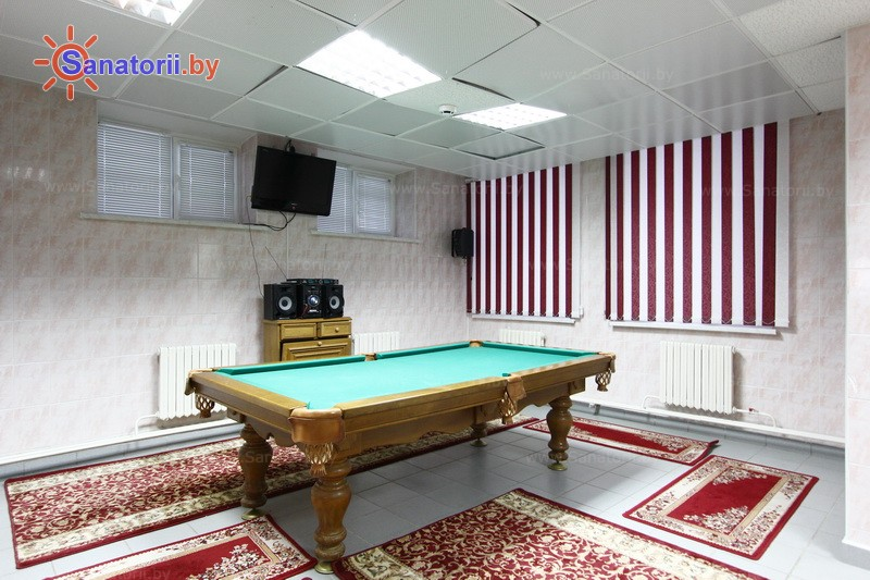 Санатории Белоруссии Беларуси - ДРОЦ Колос - Бильярд