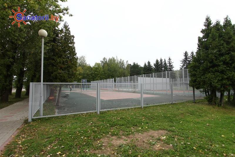 Санатории Белоруссии Беларуси - ДРОЦ Ждановичи - Спортплощадка
