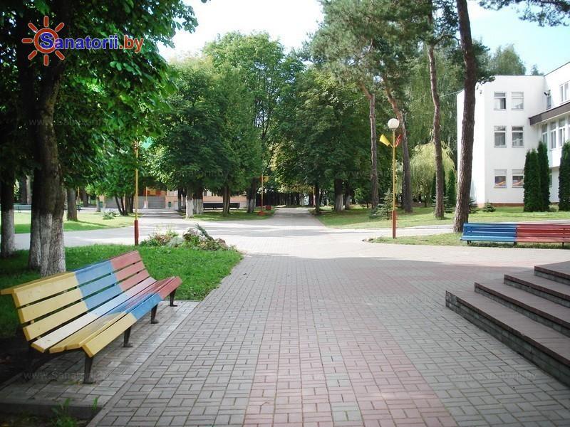 Санаторыі Беларусі - ДРАЦ Ждановічы - Тэрыторыя