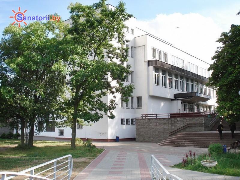 Санатории Белоруссии Беларуси - ДРОЦ Ждановичи - столовая-клуб