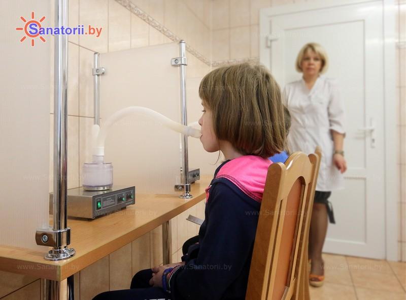 Санатории Белоруссии Беларуси - ДРОЦ Ждановичи - Ингаляции (аэрозольтерапия)