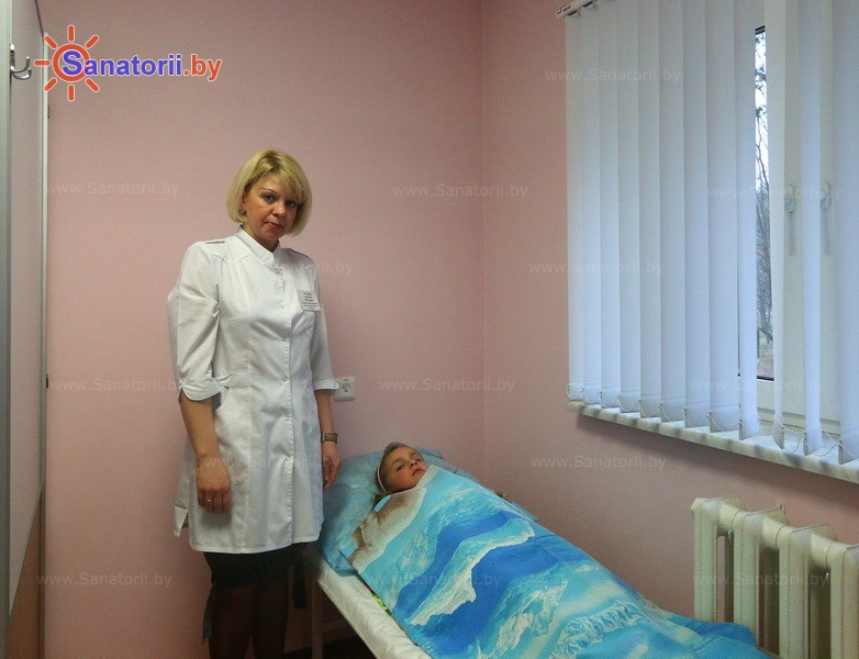 Санатории Белоруссии Беларуси - ДРОЦ Ждановичи - Озокерито-парафинолечение