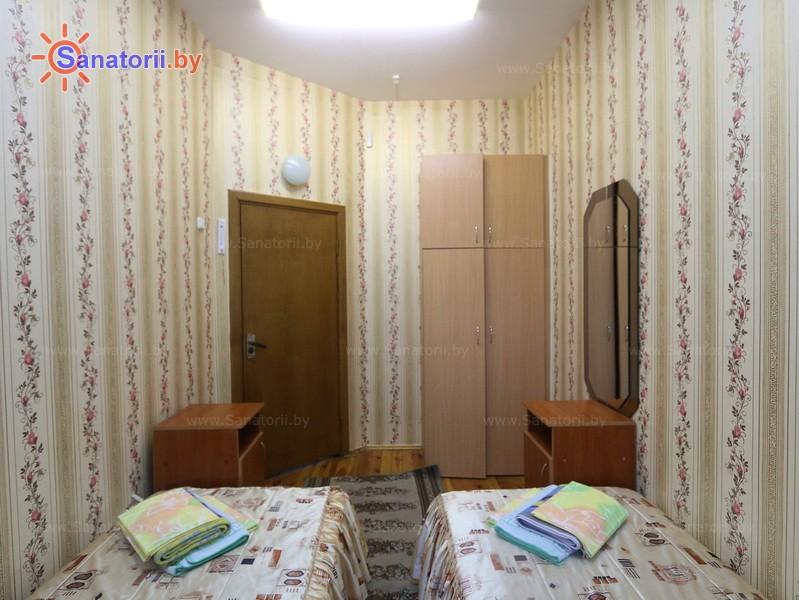 Санатории Белоруссии Беларуси - ДРОЦ Ждановичи - двухместный двухкомнатный (спальный корпус №2)