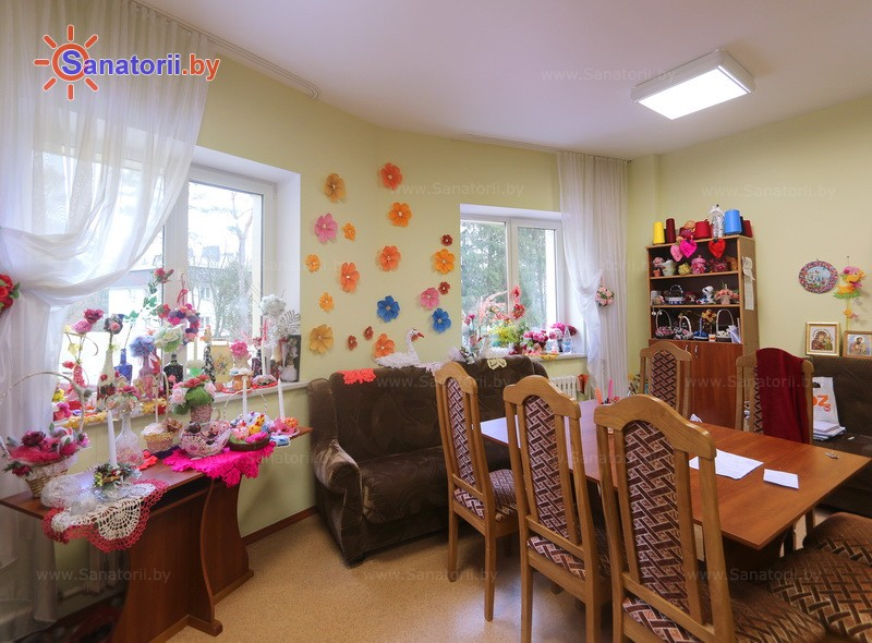 Санатории Белоруссии Беларуси - ДРОЦ Ждановичи - Детская комната
